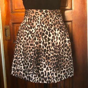 NY&Co NWT Leopard Print Skirt